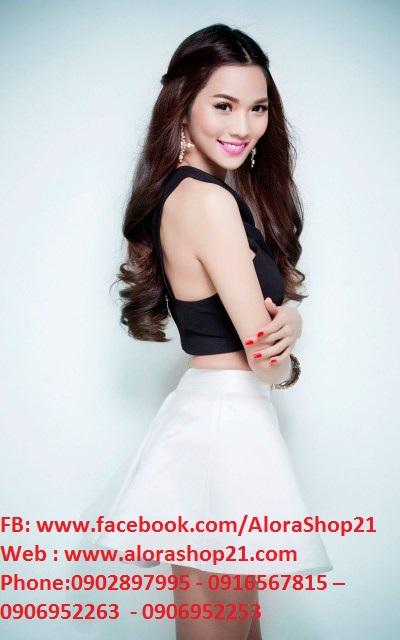 Áo croptop sexy quyến rũ như Kim Cương