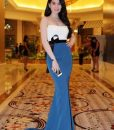 Đầm dạ hội đuôi cá sang trọng như Ngọc Trinh