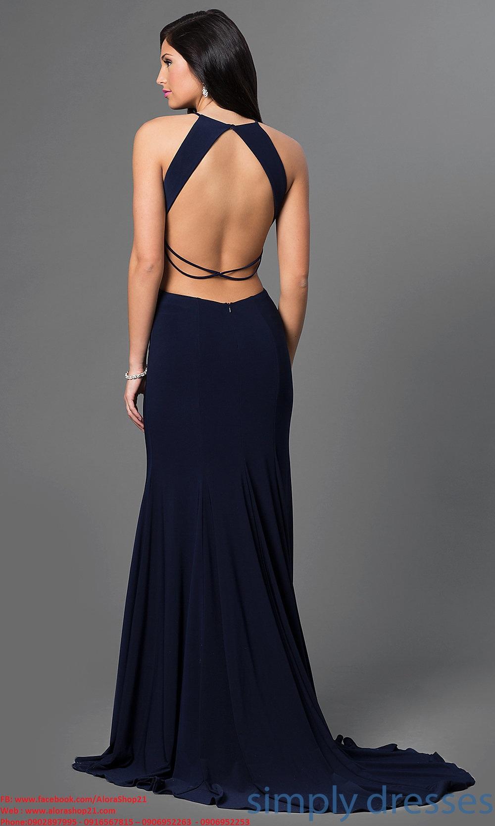 Đầm dài dự tiệc cut out sexy khéo léo quyến rũ