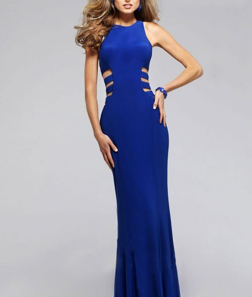 Váy dạ hội hở lưng khoét eo sexy tôn dáng – D249