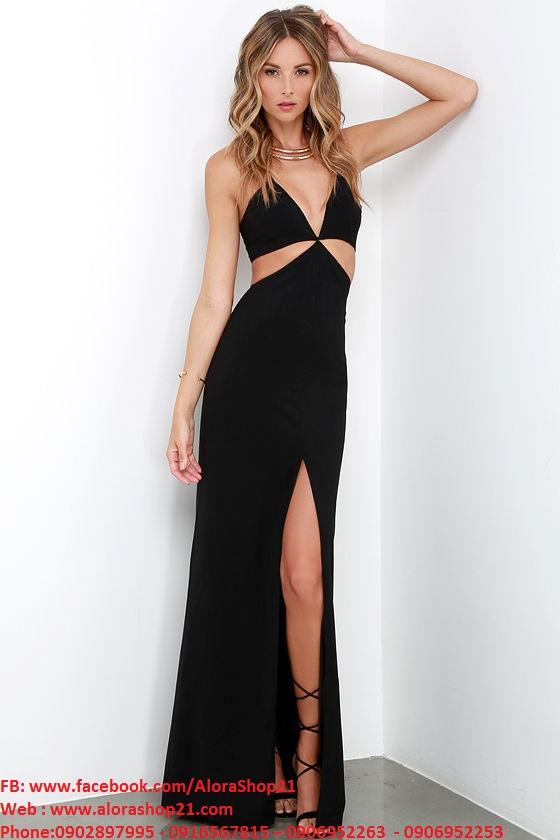 Đầm dài dạ hội sexy quyến rũ tôn dáng nổi bật – D254