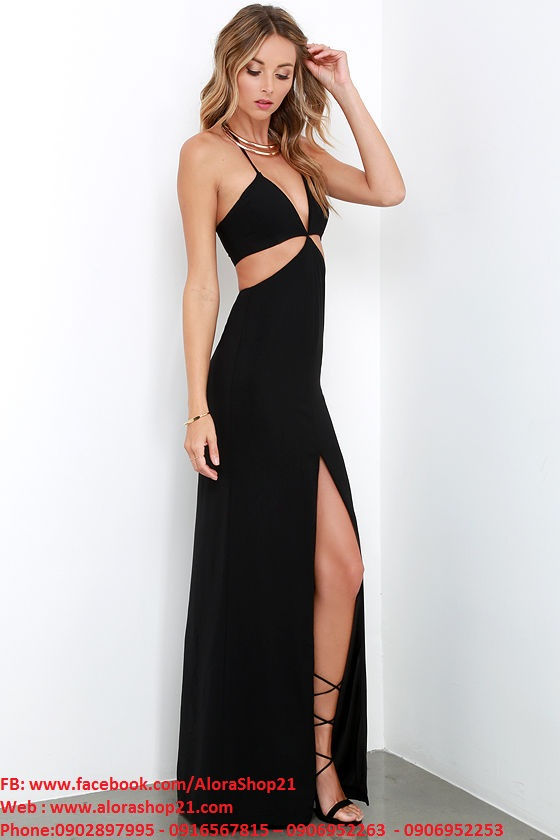 Đầm dài dạ hội sexy quyến rũ tôn dáng nổi bật - D254