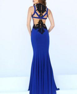 Váy dạ hội đuôi cá phối ren tinh tế gợi cảm - D257