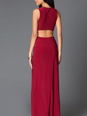 Váy dạ hội khoét eo cách điệu sexy tôn dáng - D260