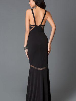 Váy dài 2 dây cắt xẻ tinh tế mà sang trọng - D265