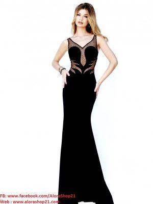 Váy dạ hội cúp ngực sexy phối ren tôn dáng - D269