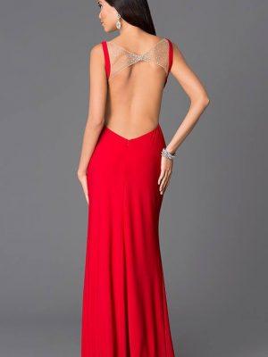 Đầm dạ hội phối ren khoét ngực sâu quý phái sexy - D283