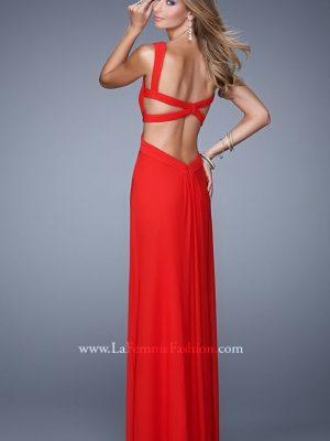 Váy dạ hội 2 dây quyến rũ hiện đại - D284