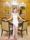 Đầm dài dự tiệc cúp ngực xẻ đùi siêu cao tôn dáng – D231