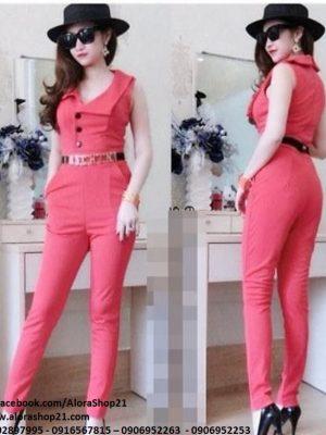 Jumpsuit vest dài cao cấp form chuẩn đẹp đủ màu