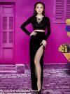 Chân váy dài xẻ đùi tôn dáng như Phương Trinh – VD02