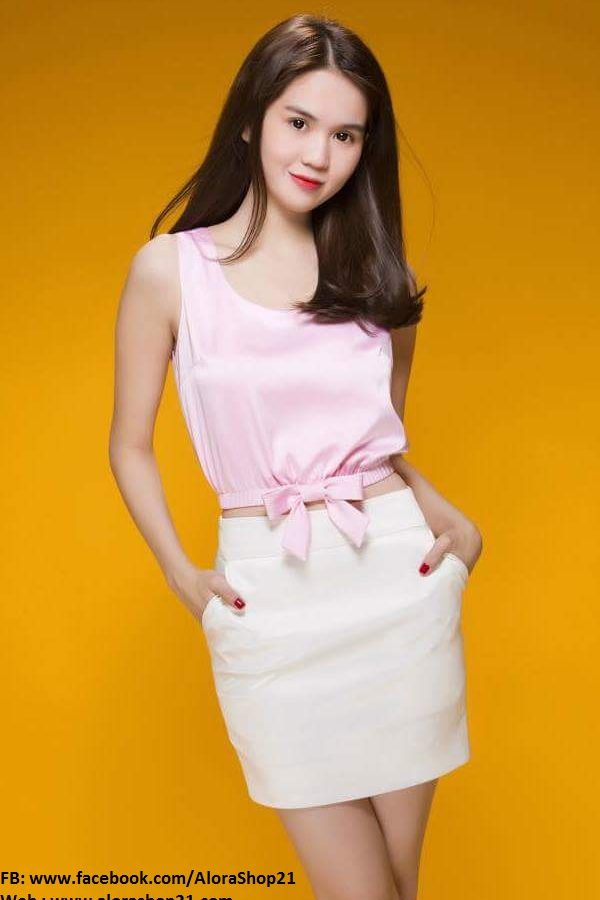 Chân váy ngắn sexy dễ thương như Ngọc Trinh – VN01