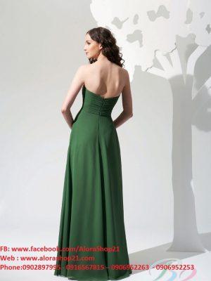 Đầm dạ hội cao cấp maxi dài cúp ngực quyến rũ - D316