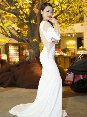 Váy dạ hội cut out sexy quyến rũ như Yến Trang - D328