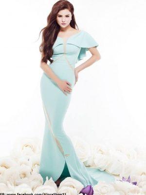 Đầm dạ hội màu pastel nhẹ nhàng thanh thoát - D335
