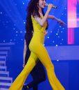 Jumpsuit dài cúp ngực thắt eo sexy tôn dáng như Thủy Tiên – J13