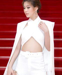 Set áo dạng cape sexy quyến rũ như Diễm Trang - J19