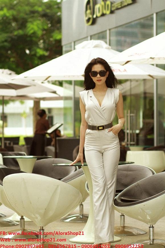 Jumpsuit Đồ Bay Zara kem dạng Vest Ngọc Trinh – J48