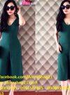 Jumpsuit lửng cổ chữ V quần ống rộng thời trang sành điệu – JL21