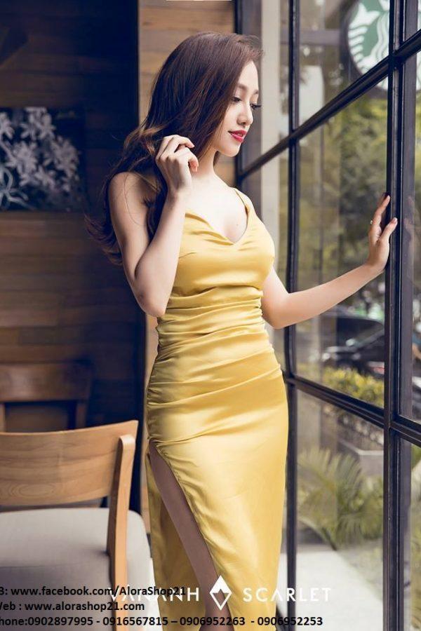 Váy ôm phi bóng tôn dáng sexy – DN158