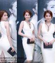 Đầm ôm body của Ngọc Trinh thiết kế tôn dáng tuyệt đẹp - DN165