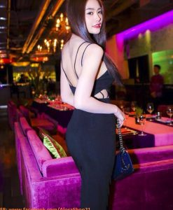 Đầm ôm sexy thiết kế màu sắc nổi bật như Ngọc Trinh - DN326