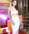 Váy ôm body trắng sexy quyến rũ tôn dáng như Linh Chi - DN338