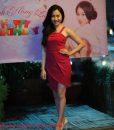 Váy body đỏ 2 dây xẻ tà trên gối sexy gợi cảm - DN347
