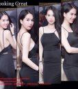 Đầm ôm body 2 dây đơn giản quyến rũ như Ngọc Trinh - DN370