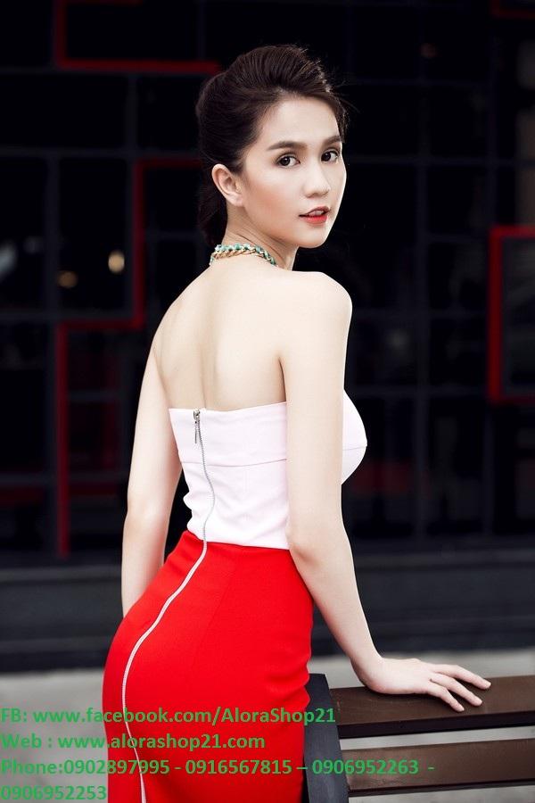 Đầm body cúp ngực form chuẩn dự tiệc sang trọng như Ngọc Trinh - DN373