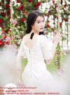 Đầm chữ A đẹp với thiết kế tay ren của Ngọc Trinh – DN46