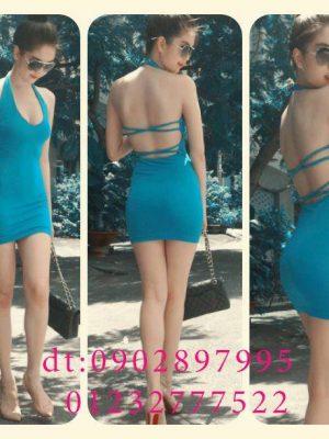 Đầm ôm body cực sexy như Ngọc Trinh mặc đi tiệc siêu hot - DN52