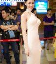 Đầm ôm body dự tiệc cut out quyến rũ như Linh Chi – DN56