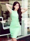 Đầm body đơn giản màu sắc nổi bật như Ngọc Trinh - DN95
