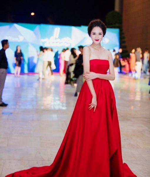 Đầm dạ hội cúp ngực chân xòe như á hậu Hoàng Anh – DN351