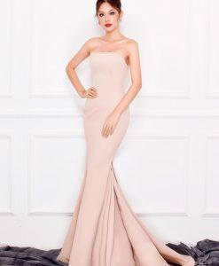 Váy dạ hội cúp ngực đuôi cá sexy tôn dáng như Phương Linh - D353