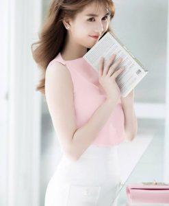 Set áo và chân váy bút chì xinh xắn dễ thương - JN48