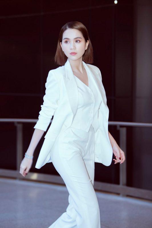 Áo quần kiểu áo vest tay dài kèm áo trong quần tây - J105