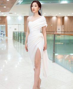 Đầm dự tiệc thiết kế xẻ đùi cao ôm body tôn dáng - DN473