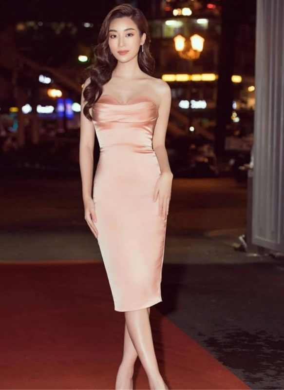 Đầm dự tiệc thiết kế cúp ngực ôm body tôn dáng - DN472