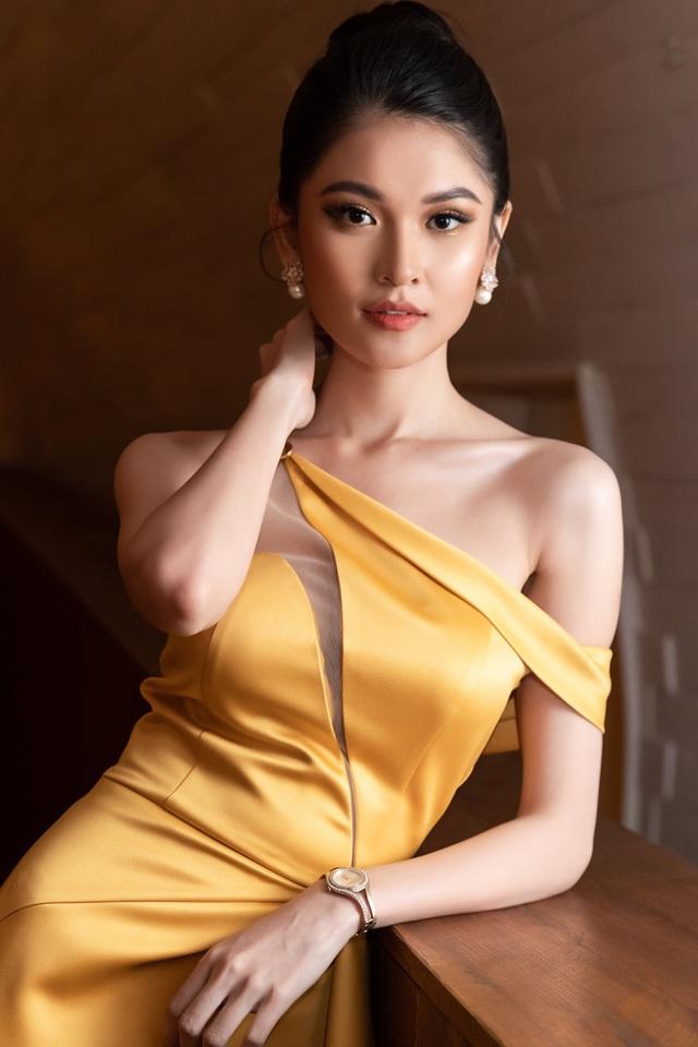 Đầm dạ hội cao cấp thiết kế lệch vai ôm body tôn dáng - D540