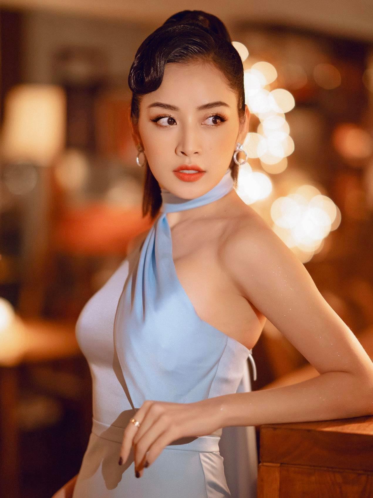 Đầm dạ hội lệch vai ôm body siêu tôn dáng - D556