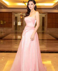 Đầm dạ hội dáng xoè thiết kế cúp ngực quyến rũ - D551