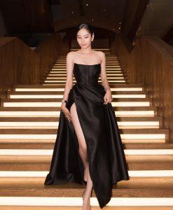 Đầm dạ hội thiết kế cúp ngực dáng xoè siêu sexy - D569