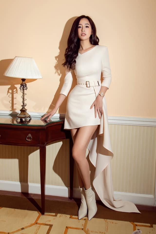 Đầm dạ tiệc dài tay dáng dài ôm body sang trọng - DN513